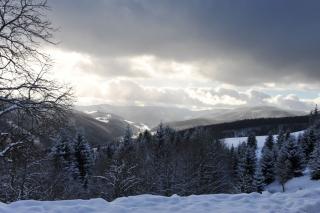Pohlednice - zima