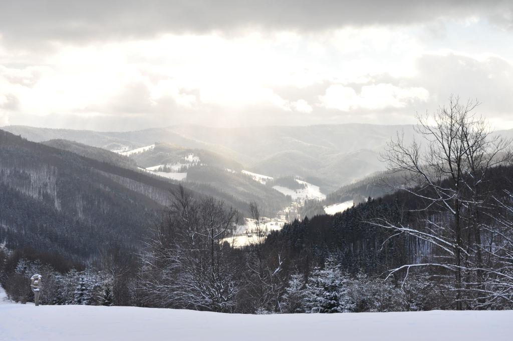 Pohlednice - zima 2