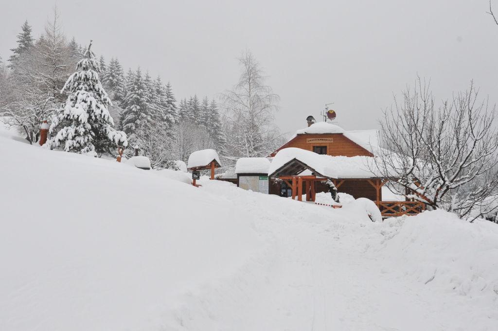 Pohlednice - zima 13